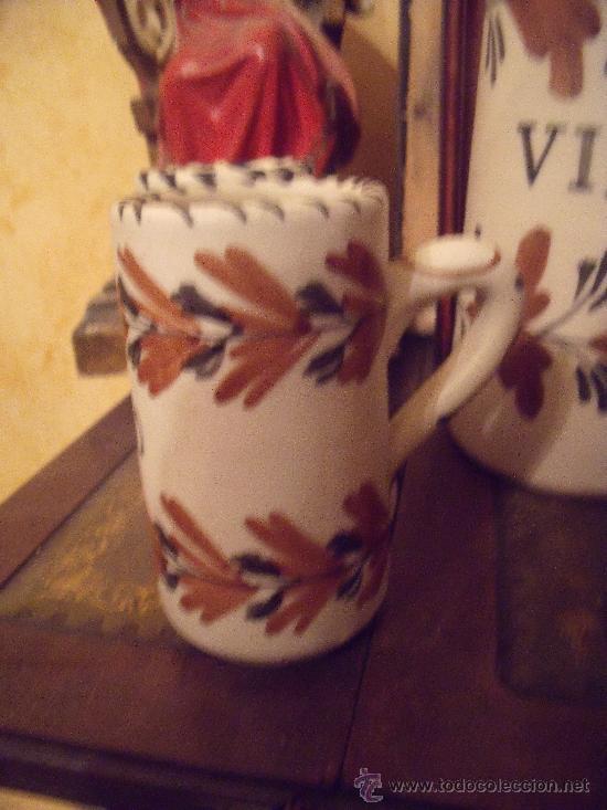 Antigüedades: JUEGO DE VINO TALAVERA - Foto 4 - 26618300