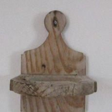 Antigüedades: JARRERO EN MADERA PARA COLGAR Y COLOCAR UNA JARRA PARA EL AGUA - ANTIGUO-IDEAL DECORACION RUSTICA. Lote 26629134