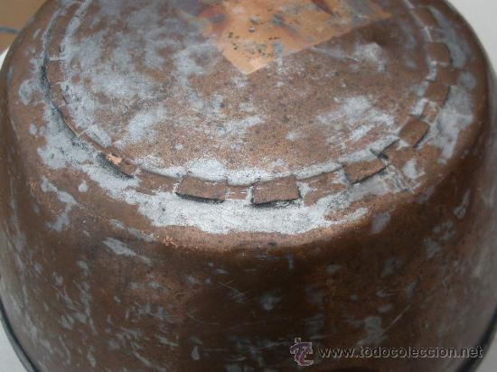 Antigüedades: ANTIGUO CAZO GRANDE DE COBRE. - Foto 12 - 26619108
