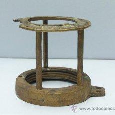 Antigüedades: JAULA LÁMPARA MINA ADARO. (MINAS-MINERO-MINEROS). Lote 26659499