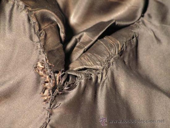 Antigüedades: Peletería Braun. Abrigo largo de visón marrón oscuro. Art Nouveau. - Foto 11 - 23570389
