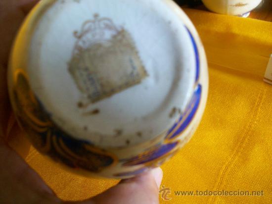 Antigüedades: BELLEZA. JARRON FLORERO.3. TEMA ORIENTAL.CHINA O JAPON. GEISHAS. KIRALPO WARE. K & Co. ENGLAND - Foto 10 - 26734067