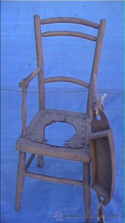 Trona infantil bebe para restaurar comprar sillas for Antiguedades para restaurar