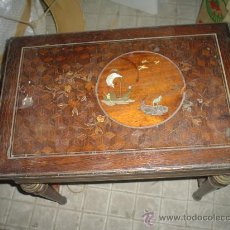 Antigüedades: COSTURERO DE PALOSANTO. Lote 27090985
