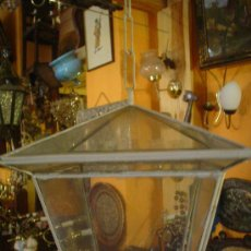 Antigüedades: FAROL BLANCO. Lote 26339647