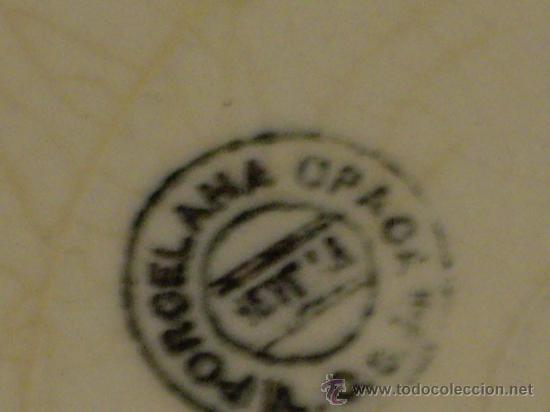 Antigüedades: DOS PLATOS PLANOS DE SAN JUAN DE AZNALFARACHE - Foto 3 - 26963506