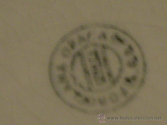 Antigüedades: DOS PLATOS PLANOS DE SAN JUAN DE AZNALFARACHE - Foto 8 - 26963506
