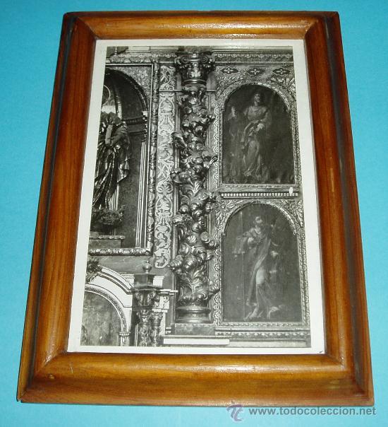 fotografía enmarcada de retablo barroco. dimens - Comprar Portafotos ...