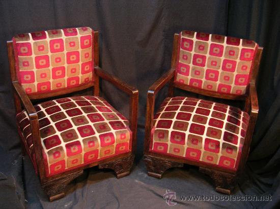 Antiguos sillones restaurados comprar sillones antiguos en todocoleccion 27425890 - Sillones antiguos restaurados ...