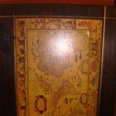 Antigüedades: ORIGINAL BOTELLERO TODO EN MADERA. Lote 27120886