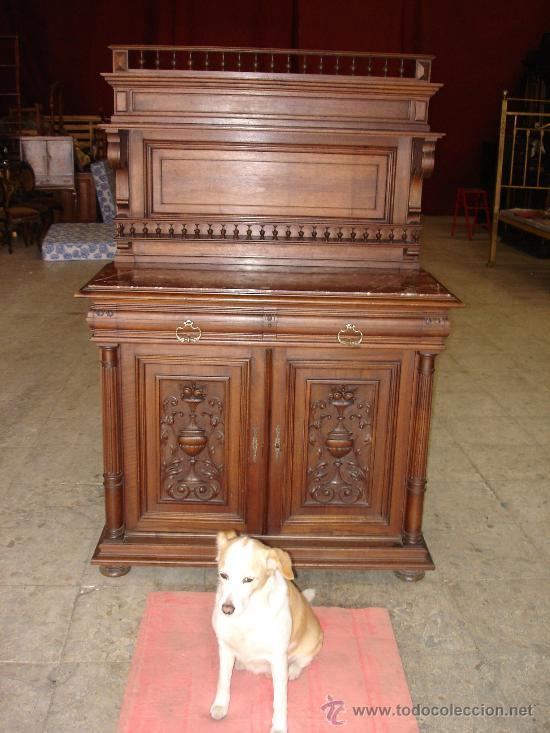 TRINCHERO DE NOGAL (Antigüedades - Muebles - Cómodas Antiguas)