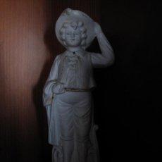 Antigüedades: MUY ANTIGUA FIGURA BISCUIT. Lote 26971256