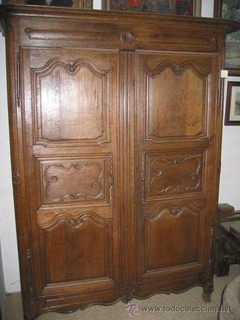 Impresionante armario ropero de roble antiguo comprar - Muebles armarios roperos ...