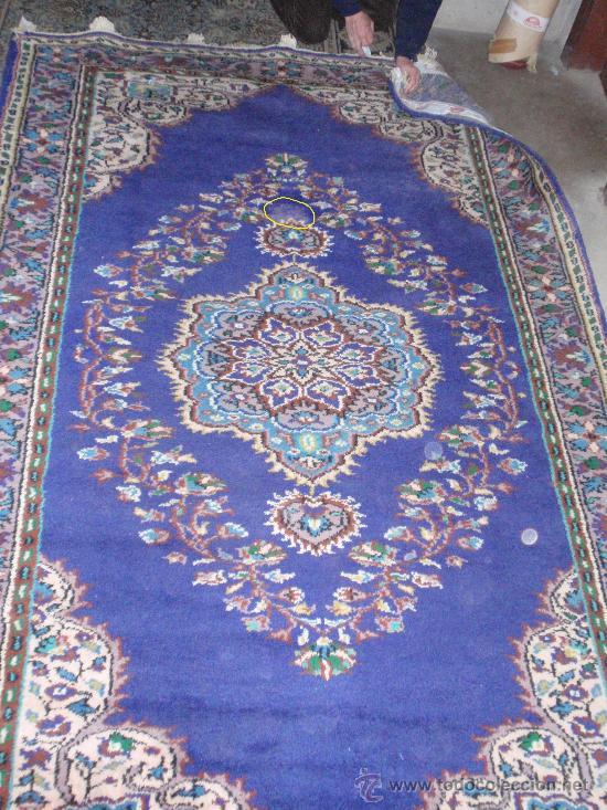 Antigüedades: Alfombra persa. Medida 285x189 cm. Sin usar. Comprada en 1989 - Foto 2 - 27260428