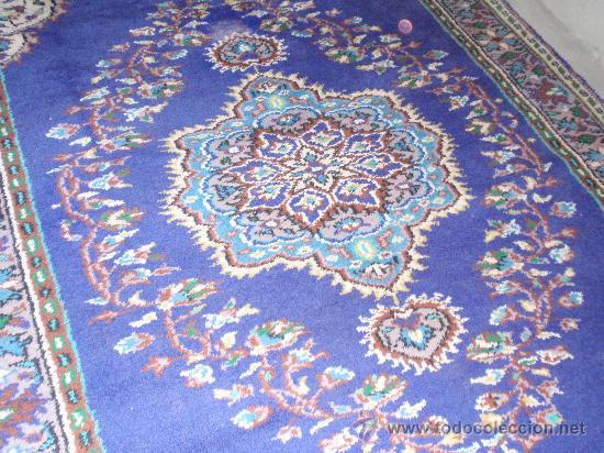 Antigüedades: Alfombra persa. Medida 285x189 cm. Sin usar. Comprada en 1989 - Foto 3 - 27260428