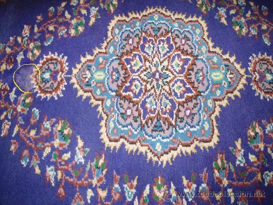 Antigüedades: Alfombra persa. Medida 285x189 cm. Sin usar. Comprada en 1989 - Foto 4 - 27260428