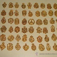 Antigüedades: COLECCIÓN DE 68 INSIGNIAS MEDALLAS DE LAS HERMANDADES ROCIERAS. VIRGEN ROCÍO. ORO. ACTUALIZADO . Lote 24238078