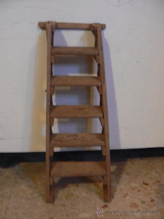 escalera de maderacasa de de pajaro