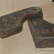 Antigüedades: SALERO EN CASTAÑO. ASTURIAS.. Lote 24334208