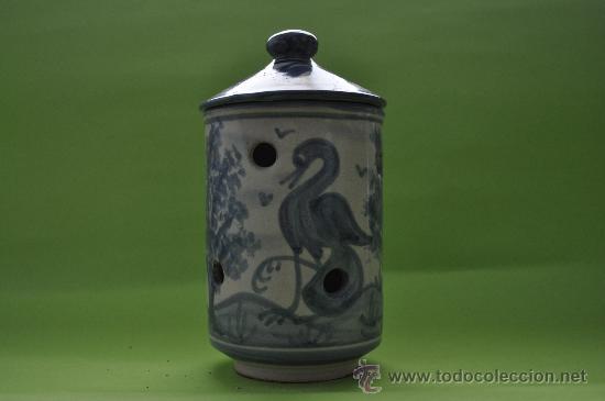 Antigüedades: Tarro ceramica Teruel - Foto 2 - 27362596