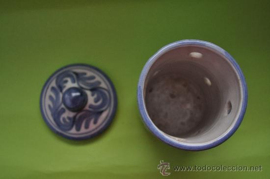 Antigüedades: Tarro ceramica Teruel - Foto 3 - 27362596