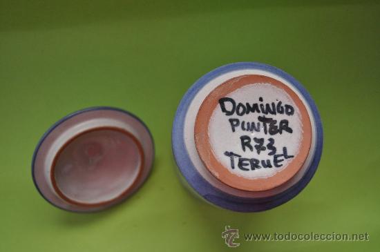 Antigüedades: Tarro ceramica Teruel - Foto 4 - 27362596