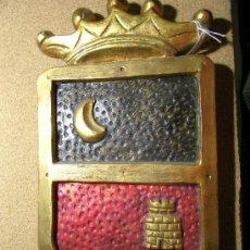 Antigüedades: ESCUDO HERALDICO. Lote 24406403