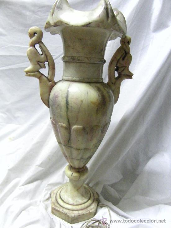 JARRON ALABASTRO (Antigüedades - Hogar y Decoración - Jarrones Antiguos)