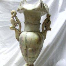 Antigüedades: JARRON ALABASTRO. Lote 24412309