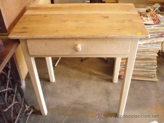 Antigua mesa rustica de cocina 80 x 50 x 80 comprar - Mesas antiguas de cocina ...