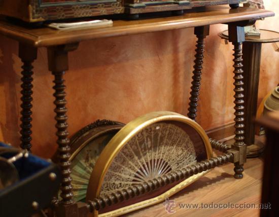Antigüedades: Bargueño papelera hispano-flamenca, época Carlos II ffs S XVII. - Foto 7 - 39281918