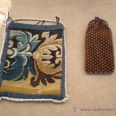 Antigüedades: 2 BOLSOS DE SEÑORA. Lote 24491986