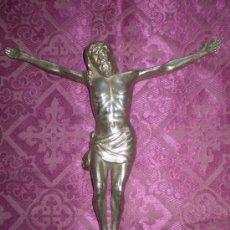 Antigüedades: CRISTO NIQUELADO. Lote 24501296
