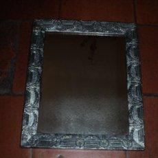 Antigüedades: ESPEJO S XIX PLATEADO. Lote 24503412