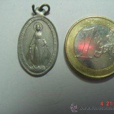 Antigüedades: VIRGEN MEDALLA RELIGIOSA PRECIOSA AÑOS 1920-40. Lote 24505675