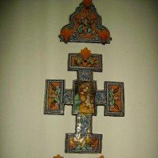 Antigüedades: EXCEPCIONAL BENDITERA DE MAESTRO - PIEZA UNICA. Lote 27267332