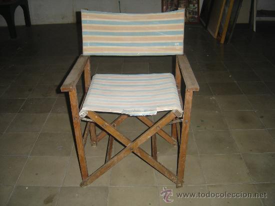 Antigua silla de playa director de cine a os comprar sillas antiguas en todocoleccion 26619272 - Sillas director de cine ...