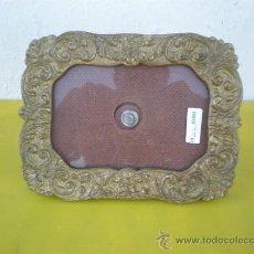Antiquitäten - portaretrato de bronce - 24545961