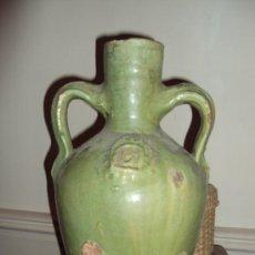 Antigüedades: ANTIQUISIMO CANTARILLO DE LA CUEVA SANTA (SEGORBE -CASTELLON ). Lote 26024080