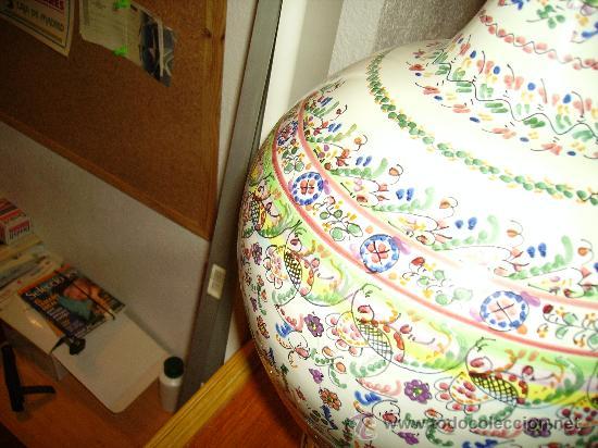 Antigüedades: Magnifica cantaro de ceramica de Puente del Arzobispo , ceramista CRUZ - Foto 5 - 26654987