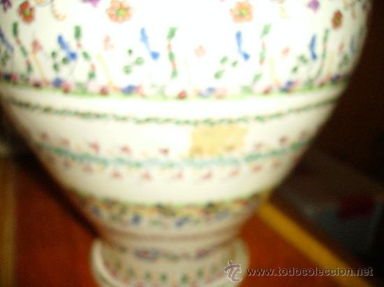 Antigüedades: Magnifica cantaro de ceramica de Puente del Arzobispo , ceramista CRUZ - Foto 4 - 26654987