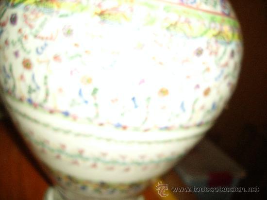 Antigüedades: Magnifica cantaro de ceramica de Puente del Arzobispo , ceramista CRUZ - Foto 14 - 26654987