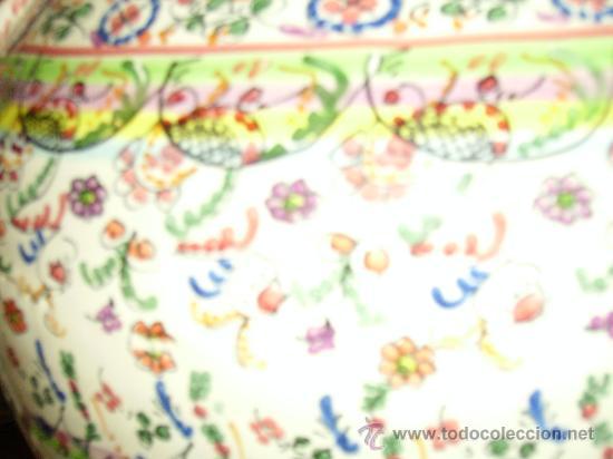 Antigüedades: Magnifica cantaro de ceramica de Puente del Arzobispo , ceramista CRUZ - Foto 12 - 26654987