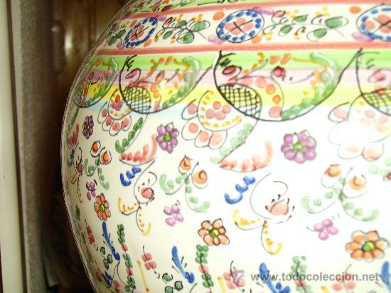 Antigüedades: Magnifica cantaro de ceramica de Puente del Arzobispo , ceramista CRUZ - Foto 13 - 26654987
