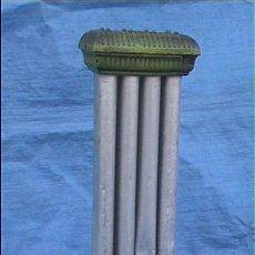 Antigüedades: SALAMANDRA ESTUFA GAS HIERRO ESMALTADO 85X40X23CM. Lote 24636021
