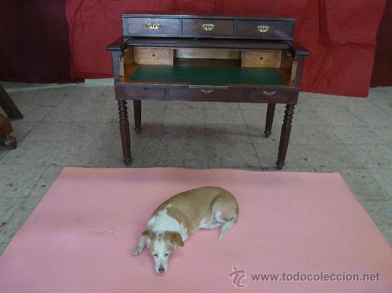 ESCRITORIO VICTORIANO (VIDEO) (Antigüedades - Muebles Antiguos - Escritorios Antiguos)