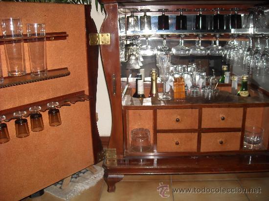 Mueble Bar De Estilo Moderno Comprar Vitrinas Antiguas