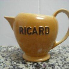 Antigüedades: JARRA RICARD EN LA BASE SELLO Y NUMERADA. Lote 24736289