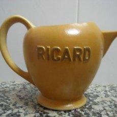 Antigüedades: JARRA RICARD EN LA BASE SELLO Y NUMERADA. Lote 24736344