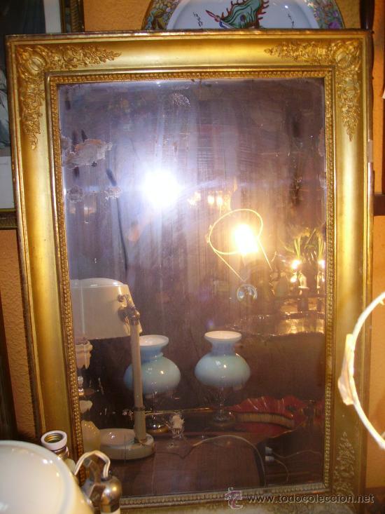 ESPEJO ISABELINO (Antigüedades - Muebles Antiguos - Espejos Antiguos)